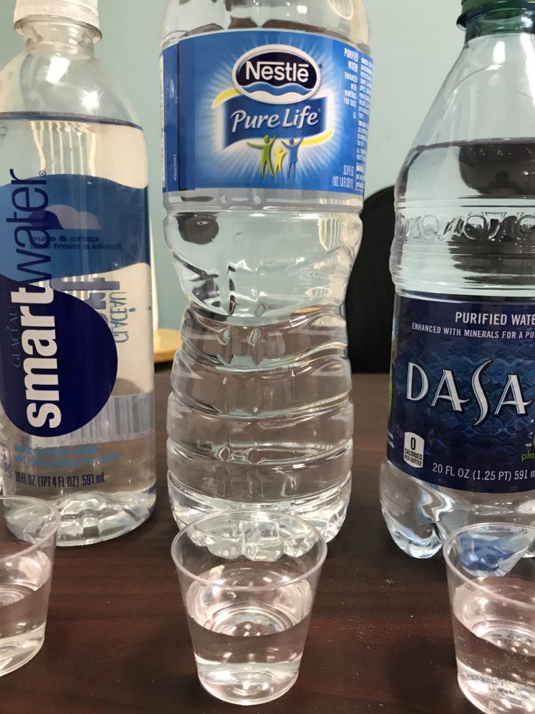 Bottled Water Test One Water Systems Home Water Filter